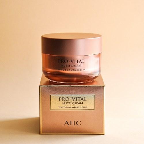 Питательный крем для лица с протеинами шёлка A.H.C Pro-Vital Nutri Cream-фото