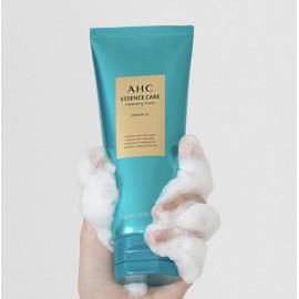 Очищающая пенка премиум - уровня AHC Essence care Cleansing Foam Emerald