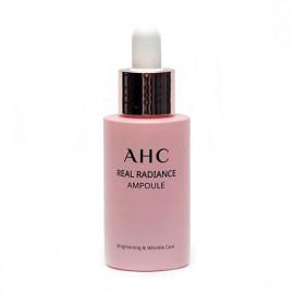 Сыворотка для сияния кожи с жемчужным порошком AHC Real Radiance Ampoule