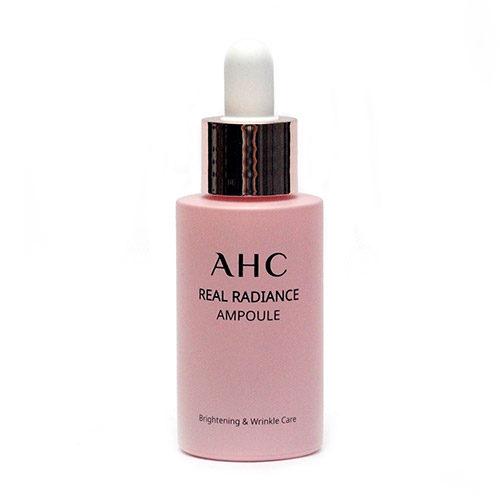 Сыворотка для сияния кожи с жемчужным порошком AHC Real Radiance Ampoule-фото