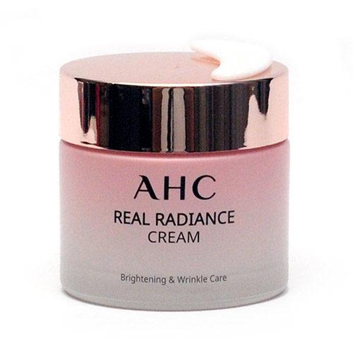 Крем для лица с жемчужной пудрой AHC Real Radiance Cream-фото