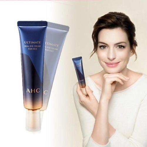 Крем с пептидным комплексом премиальной линии AHC Ultimate Real Eye cream for face-фото