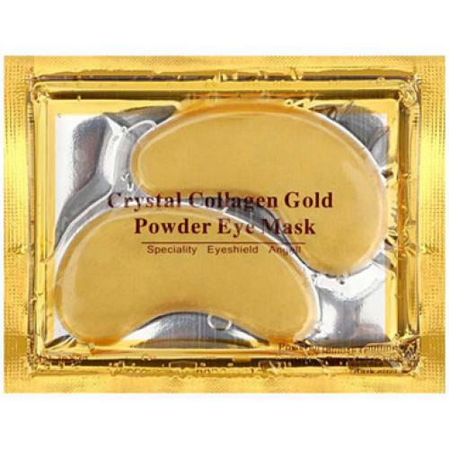 Коллагеновые патчи с био-золотом Crystal Collagen Gold Powder Eye Mask-фото