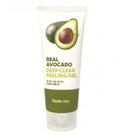 Пилинг – гель с экстрактом авокадо Farm Stay Real Avocado Deep Clear Peeling gel