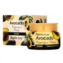 Премиум крем для лица с экстрактом авокадо FarmStay Avocado Premium Pore Cream