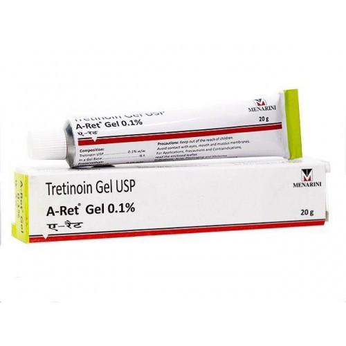 Гель  для проблемной кожи Tretinoin Gel USP A-Ret 0,1% Menarini-фото