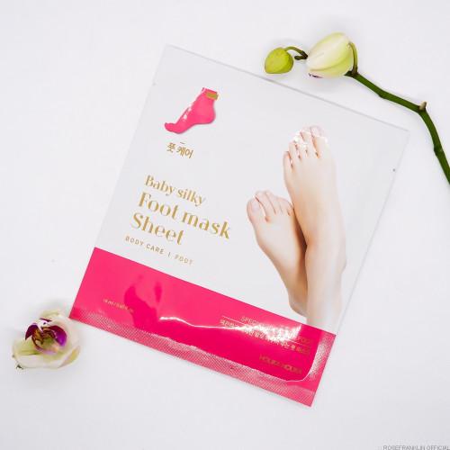 Маска для ног Holika Holika Baby Silky Foot Mask-фото