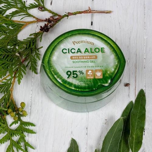 Гель алоэ Missha Premium Aloe Soothing Gel 95%-фото