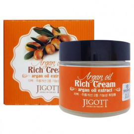 Крем для лица с аргановым маслом Jigott Rich Cream Argan Oil