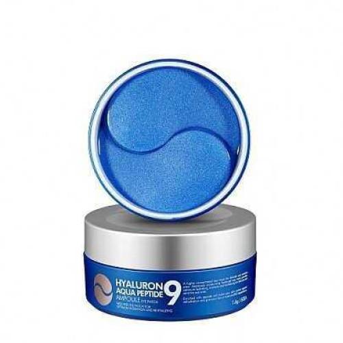 Антивозрастные патчи с гиалуроном MEDI-PEEL Hyaluron Aqua Peptide 9 Ampoule eye patch-фото