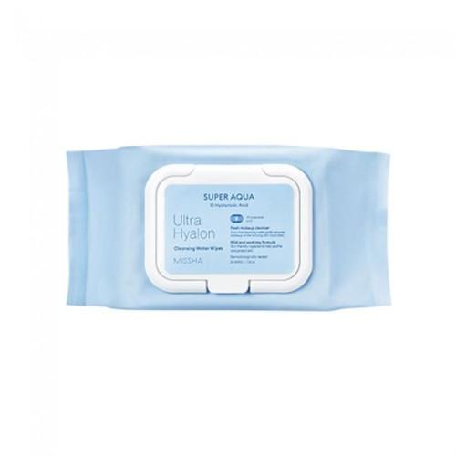 Очищающие салфетки Missha Super Aqua Perfect cleansing Oil tissue-фото