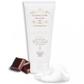 Увлажняющая шоколадная пенка для умывания Missha Creamy Latte Chocolate