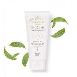 Очищающая пенка для лица Missha Creamy Latte Green Tea Cleansing Foam