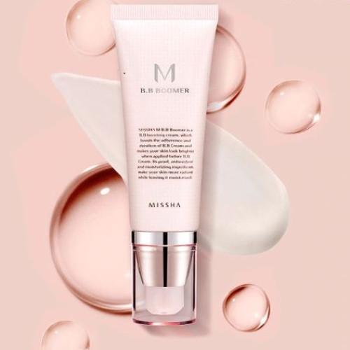 База под макияж  придающая сияние Missha M B.B Boomer-фото