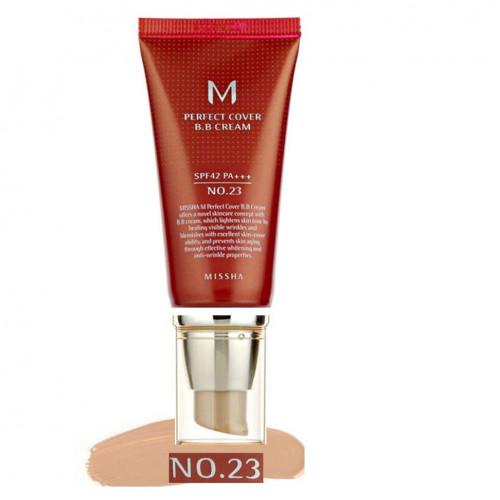 Универсальный ВВ крем Missha M Perfect Cover BB Cream № 23-фото