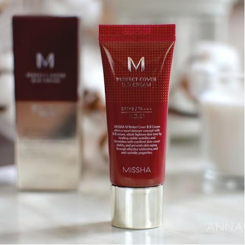 ББ крем Missha M Perfect Cover BB Cream SPF 42 PA+++ No. 21-фото