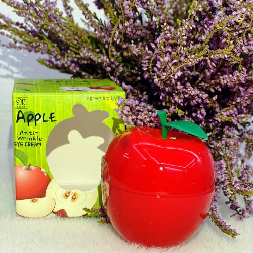 Нежный крем для век с экстрактом красного яблока Mizac Apple anti – wrinkle eye cream-фото