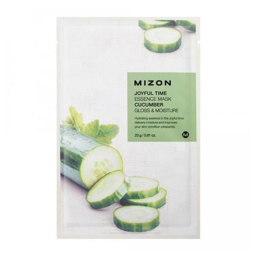 Тканевая маска для лица с экстрактом огурца Mizon Cucumber Mask-фото