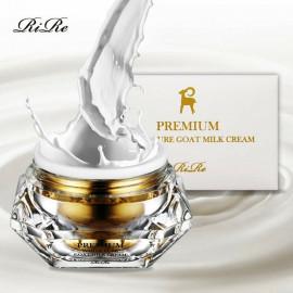 Антивозрастной крем для лица с козьим молоком RiRe Premium White Pure Goat Milk Cream