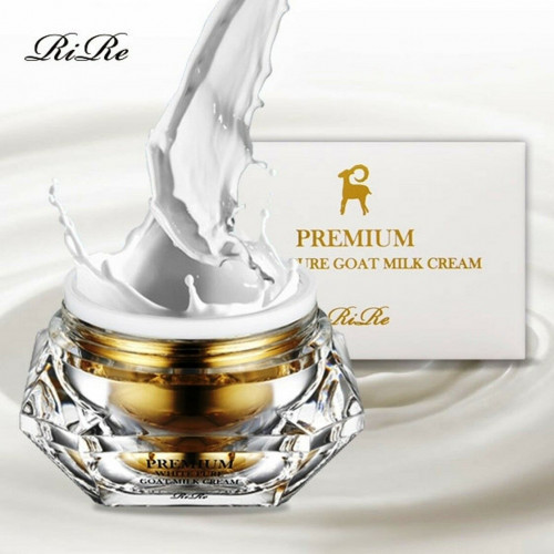 Антивозрастной крем для лица с козьим молоком RiRe Premium White Pure Goat Milk Cream-фото