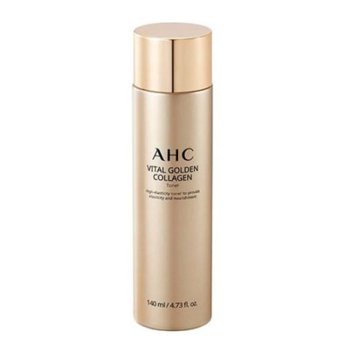 Антивозрастной тонер AHC Vital Golden Collagen Toner -фото