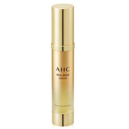 Сыворотка от морщин с осветляющим эффектом AHC Real Gold serum-фото