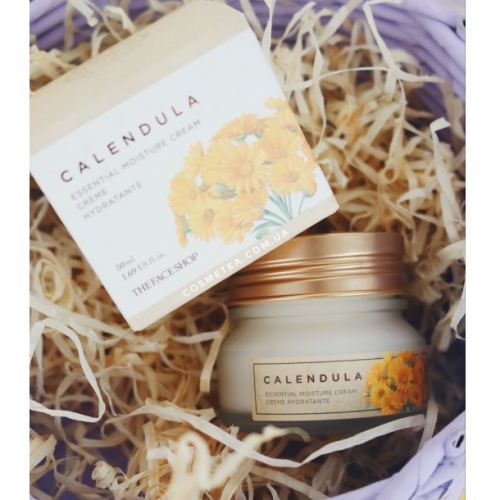 The Face Shop Calendula Essential Moisture Cream-фото