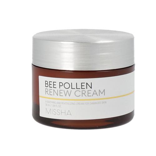 Крем на основе пчелиной пыльцы Missha Bee Pollen Renew cream-фото