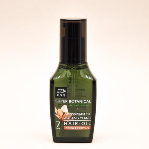 Восстанавливающее масло для волос Mise en Scene Super Botanical Abissinian oil & Ylang ylang hair - oil-фото