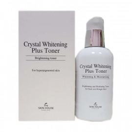 Осветляющий тоник против пигментации кожи The Skin House Cristal Whitening Plus Toner