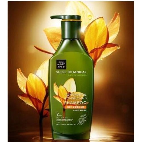Mise en scene Super Botanical Abyssinian oil & ylang ylang shampoo-фото