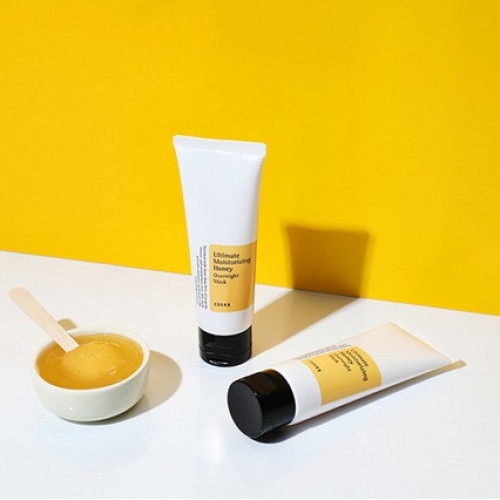 Увлажняющая ночная маска c прополисом Cosrx Ultimate Moisturizing Honey Overnight Mask-фото
