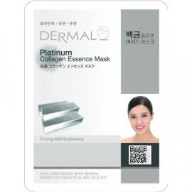 Набор из 10 масок Dermal Platinum Collagen Essence Mask