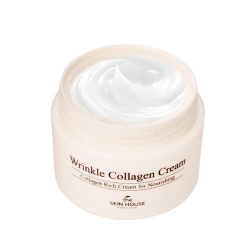 Антивозрастной крем Wrinkle Collagen Cream-фото