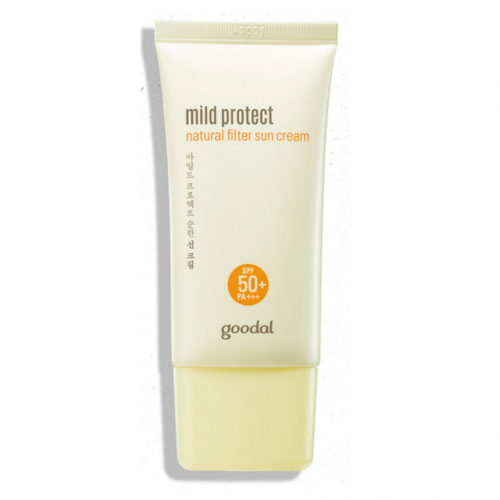 Goodal Mild Protect Natural filter sun cream SPF50+, PA+++-фото