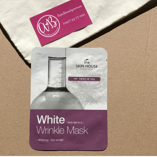 The Skin House White Wrinkle Mask-фото