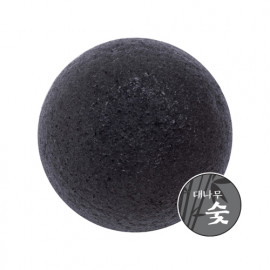 Missha Natural Soft Jelly Cleansing Puff Charcoal