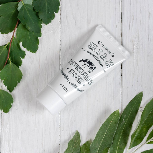 A'pieu Sleeping Milk brightening Fresh mate mask-фото