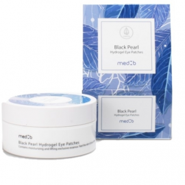 Med B Black Pearl Hydrogel eye patches