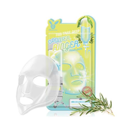 Маска для проблемной кожи Elizavecca Tea Tree Deep Power Ringer Mask Pack-фото