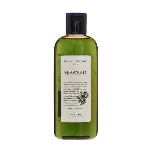 Шампунь с морскими водорослями Lebel Natural Hair Soap Seaweed-фото