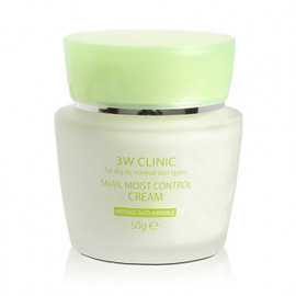 3W Clinic Snail Moist Control Cream