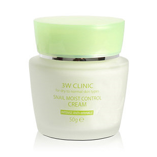 3W Clinic Snail Moist Control Cream-фото
