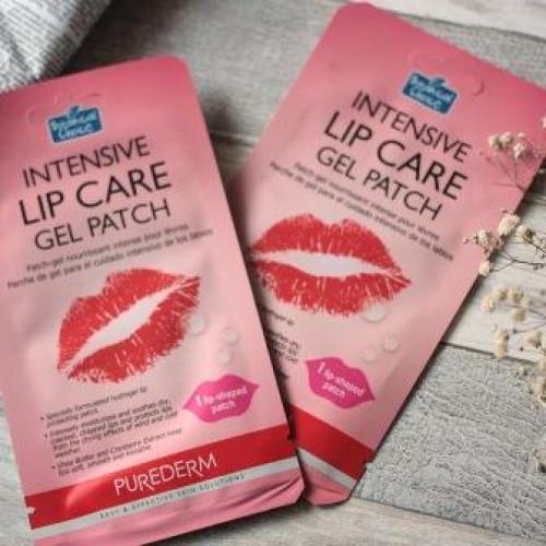 Гелевая маска патч для губ Purederm Intensive Lip Care Gel Patch-фото