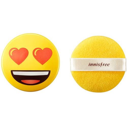 Минеральная рассыпчатая пудра Innisfree Mineral Powder Emoji Edition (Limited)-фото