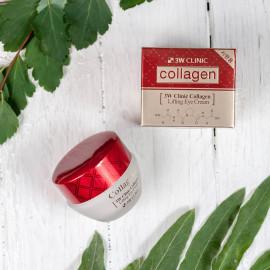 Крем лифтинг для кожи вокруг глаз 3W Clinic Collagen Lifting Eye Cream