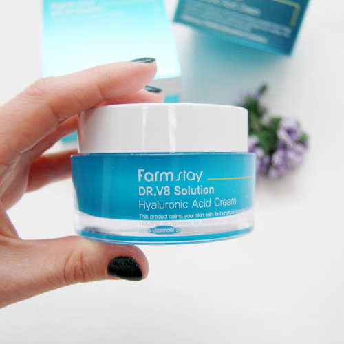 FarmStay DR.V8 Solution  Hyaluronic Acid Cream-фото