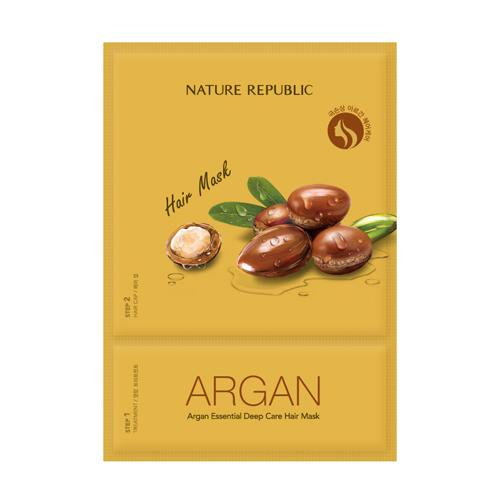 Nature Republic Argan Essencial Deep Care Hair Mask-фото