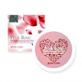 3W Clinic Pink Rose Vitamin Hydrogel Eye Patch