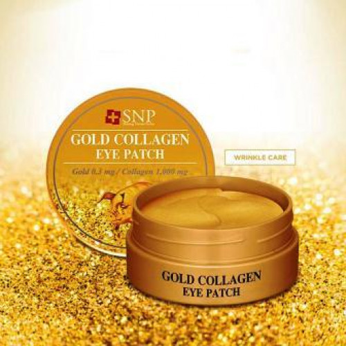 SNP Gold Collagen eye patch-фото
